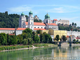 Kathedrale in Passau