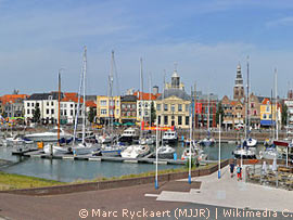 Marina in Vlissingen