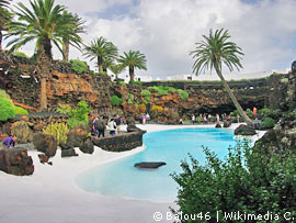 Pool in Jameos del Aqua